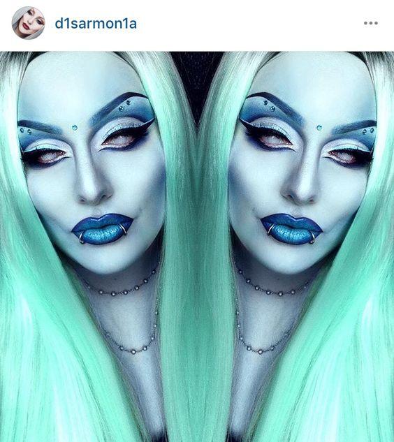 Green goddess alien                                                       …
