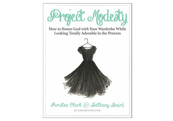 GirlDefined's inspirational e-book on how to combine fashion and modesty!