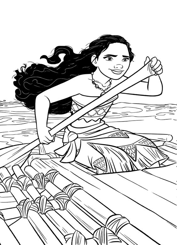 Top 10 Moana Coloring Pages Free Printables Coloring