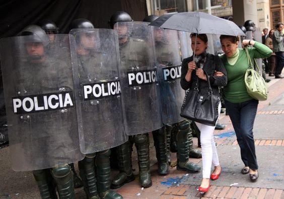 Foto: Revista Semana #ParoNacional #ParoAgrario #Colombia