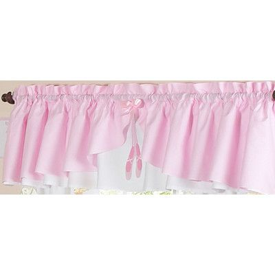 "Sweet Jojo Designs Ballerina 84"" Curtain Valance & Reviews 