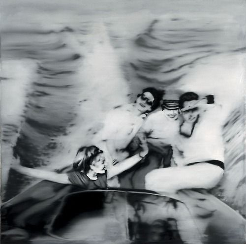 solarmetronome:  Motorboot -Gerhard Richter