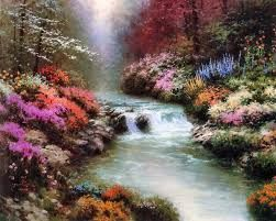 pictures of thomas kinkade paintings - Google Search