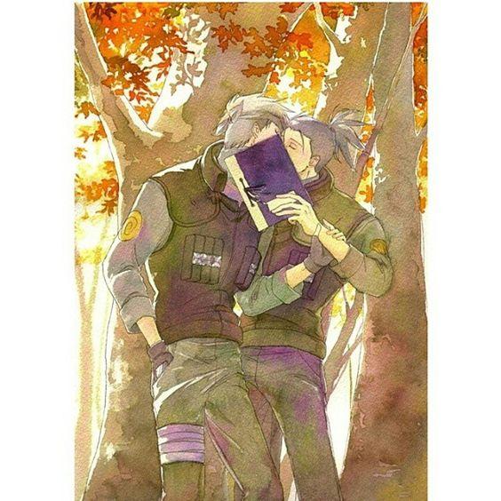 Omgosh i love kakairu so much you have nooo idea ♡♡♡  XD
