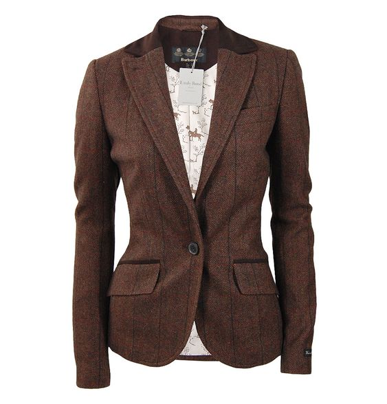 the new nutwell blazer is an en equestrian inspired ladies tweed blazer from the new barbour. Black Bedroom Furniture Sets. Home Design Ideas
