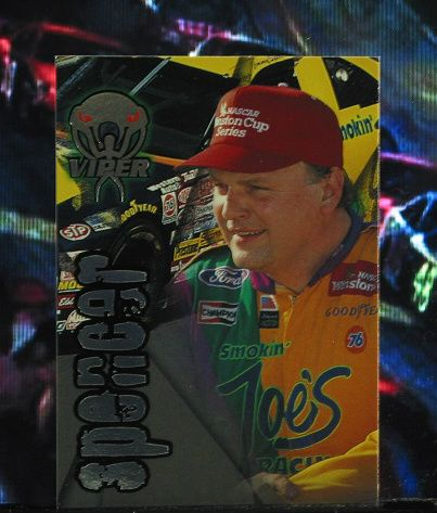 http://nascarniche.blogspot.com/  Jimmy Spencer 1996 Wheels Viper Trading Card #26 Base Set Nascar
