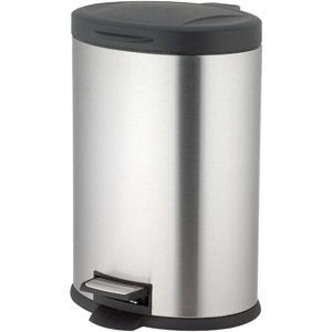 Better Homes And Gardens 12 Liter Oval Step Trash Can