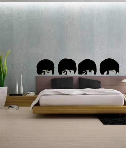 The Beatles Heads Photo Blind. This would be wicked if I was obsessed with the Beatles.
