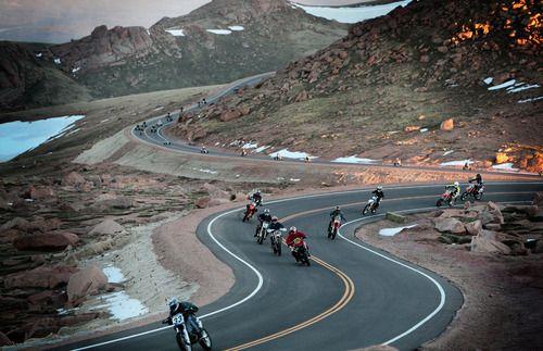 Wilderness group ride