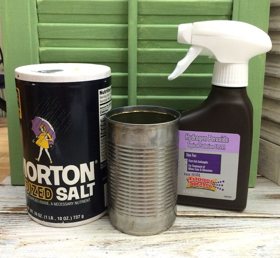 How to Make a Rusty Tin Can