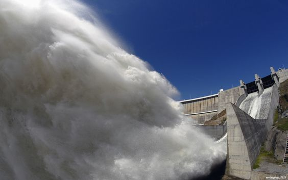 Spillway, Alqueva Dam, Portugal