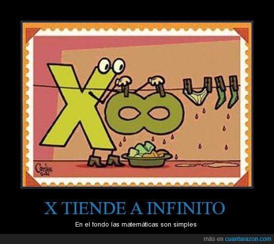 X TIENDE A INFINITO - En el fondo las matemáticas son simples
