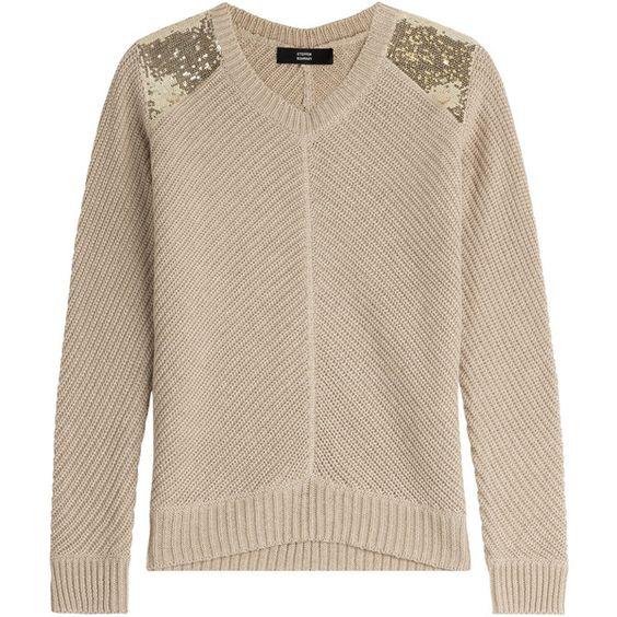Steffen Schraut Hampton Ribbed Cotton Pullover (€82) ❤ liked on ...