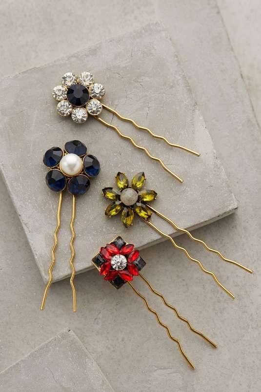 Anthropologie | Artemis Flower Bobbies #anthropologie #flower #bobbies