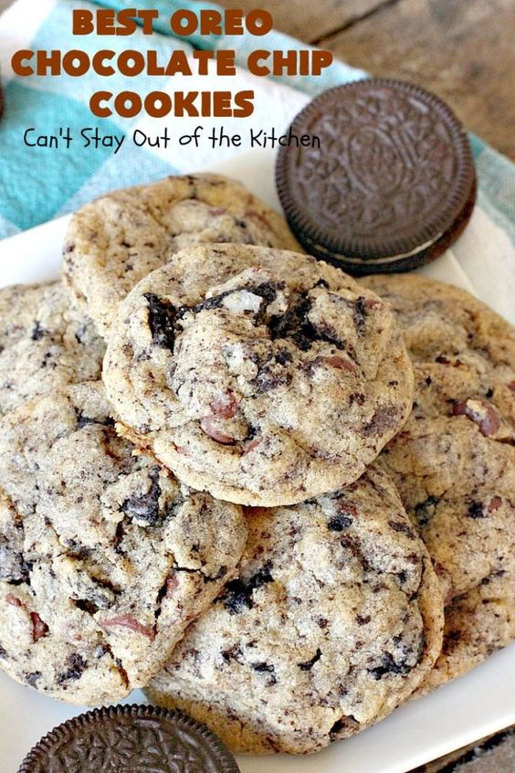 Best Oreo Chocolate Chip Cookies