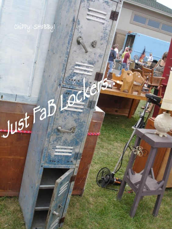 FaB Lockers...  Great PaTiNa...  Nice smaller size...