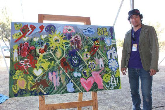 Ángel Delgado, Viñedos en Flor Ensenada 2013