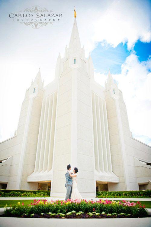 San Diego Temple Wedding Photography LDS Weddings Carlos Salazar Los Angeles Photogra