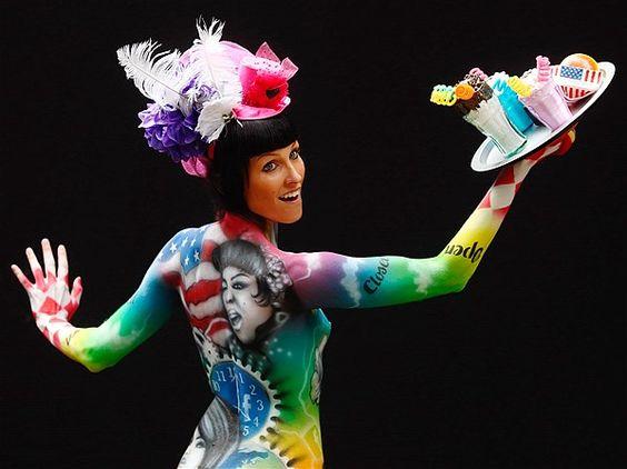 cuerpos pintados - Buscar con Google