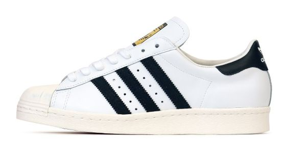 adidas Superstar 80s White/Black