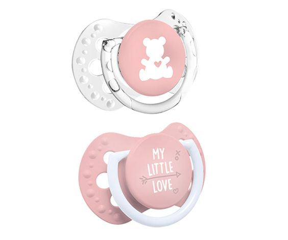 Lovely pacifiers from Lovy
