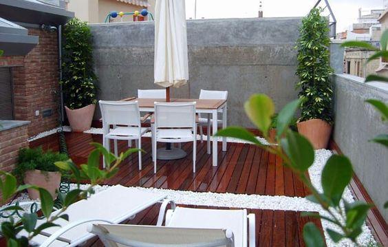Diseño de Terrazas Interiores y Exteriores, con Habitalia Decor Home. (Interiorismo) www.habitaliadecorhome.com