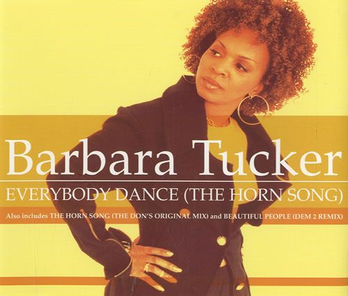 Barbara Tucker featuring The Don — Everybody Dance (The Horn Song) (studio acapella)