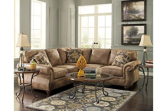 The Larkinhurst Earth Sectional from Ashley Furniture