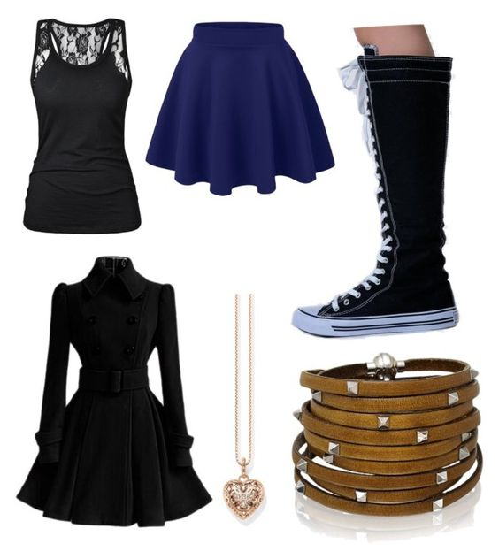 """""""Rixie"""" by direwolfpixie on Polyvore featuring Thomas Sabo, Sif Jakobs Jewellery and West Blvd"""