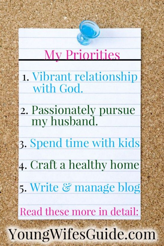 Click here to learn how to make your own personal priorities list so you can feel confident to say YES and NO to opportunities!