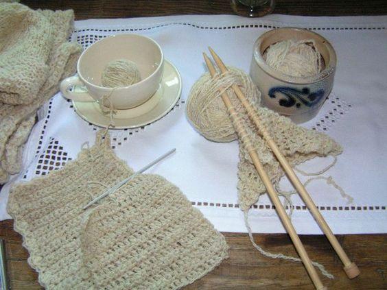 yarn from flax