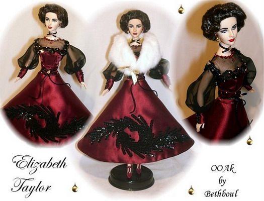 Elizabeth Taylor OOAK By Bethboul