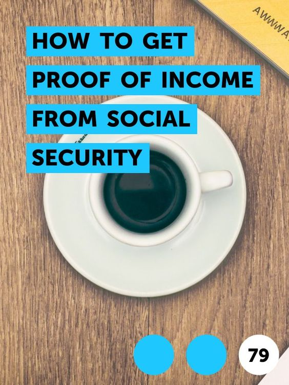 How To Get Proof Of Income From Social Security In 2020 National Insurance Number Income Money Habits