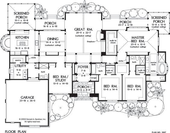 plan maison windsor