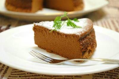 卵と チョコレートだけで作る 炊飯器 ガトーショコラ ☆