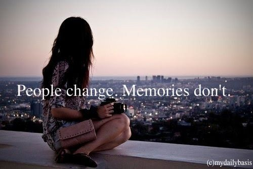 the memories stay the same
