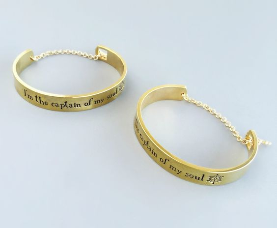 Captian of my Own Soul Bangle – Pree Brulee