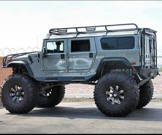 Lifted H1 Humvee #Hummer #Humvee #Rvinyl =========================== http://www.rvinyl.com/Hummer-Accessories.html