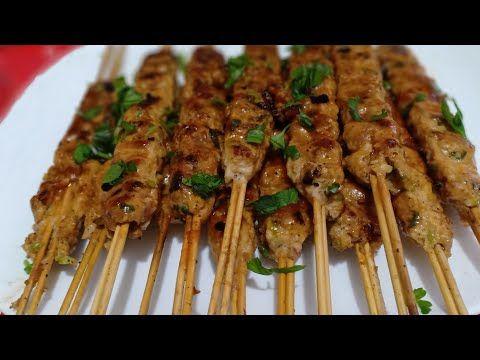 شيش كباب الدجاج بصلصة تخليه طري و ماشي ناشف و الاهم بنيين و اقتصادي Youtube Food Kebab Asparagus