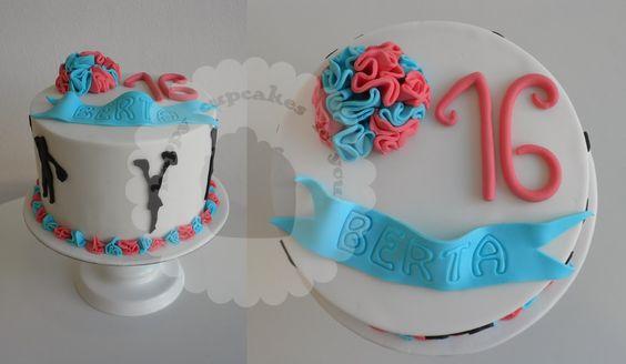 Cheerleaders cake Tarta animadoras