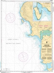CHS Nautical Chart 4682: Larkin Point to/à Cape Anguille