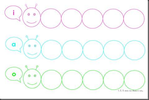 La chenille des voyelles : très bon jeu de phonologie