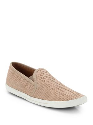 Tory Burch - Jesse Quilted Leather Slip-On Sneakers - Saks.com