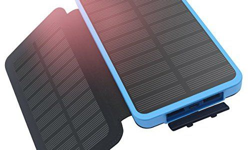 Solar Charger 10000mah Hiluckey Solar Power Bank Portable Battery Charger For Iphone Ipad Smart Phones Travelling Solar Power Bank Powerbank Solar Charger
