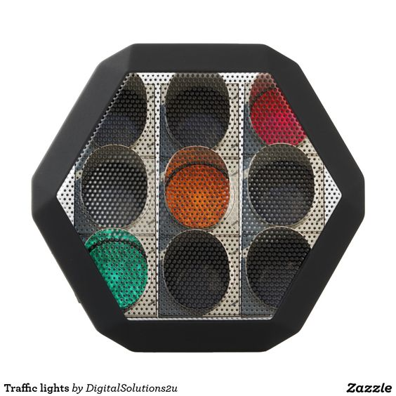 Traffic lights black boombot rex bluetooth speaker