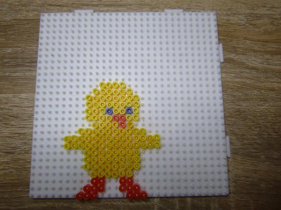Easter chick hama beads by mes-petites-creations-13