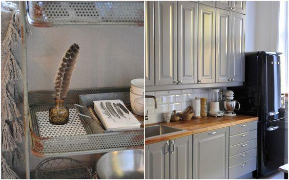 Shabby Charm: Gr?tt Liding? kj?kken fra IKEA: Interior Design ...
