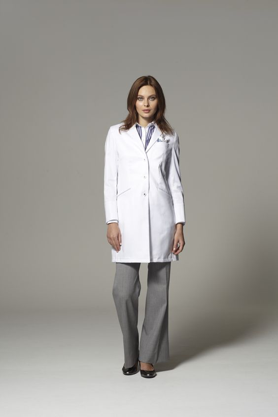 Buy custom tailored white lab coats and scrubs for men and women
