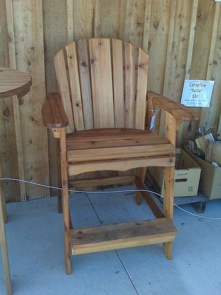 Adirondack Bar Chair Plans Tall adirondack chair plans for the home ...