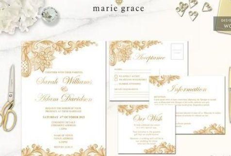 Wedding Invitations Cheap Wedding Invitations Wedding Invitation Wedding I In 2020 Wedding Invitations Online Gold Wedding Invitations Printable Wedding Invitations